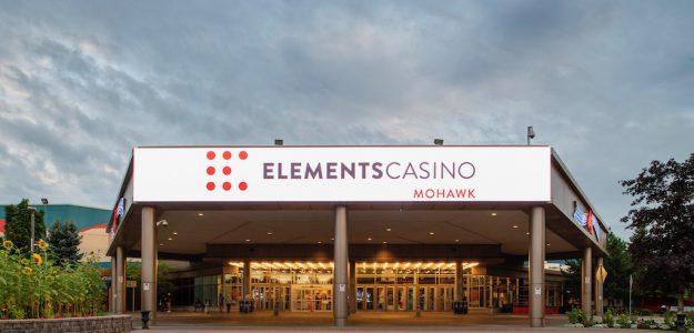 Elements Casino Mohawk Exterior Building